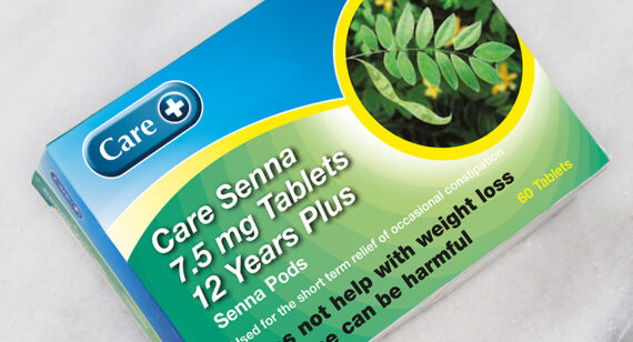 Care Senna 7.5mg Tablets 12 Years Plus (60 tablets)